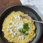 Pumpkin, Pine Nut and Feta Risotto
