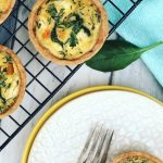 Pumpkin, Thyme & Goat's Cheese Mini Quiches