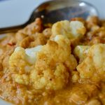 Quick Chickpea and Cauliflower Curry