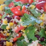 Quinoa, Bean & Corn Salad