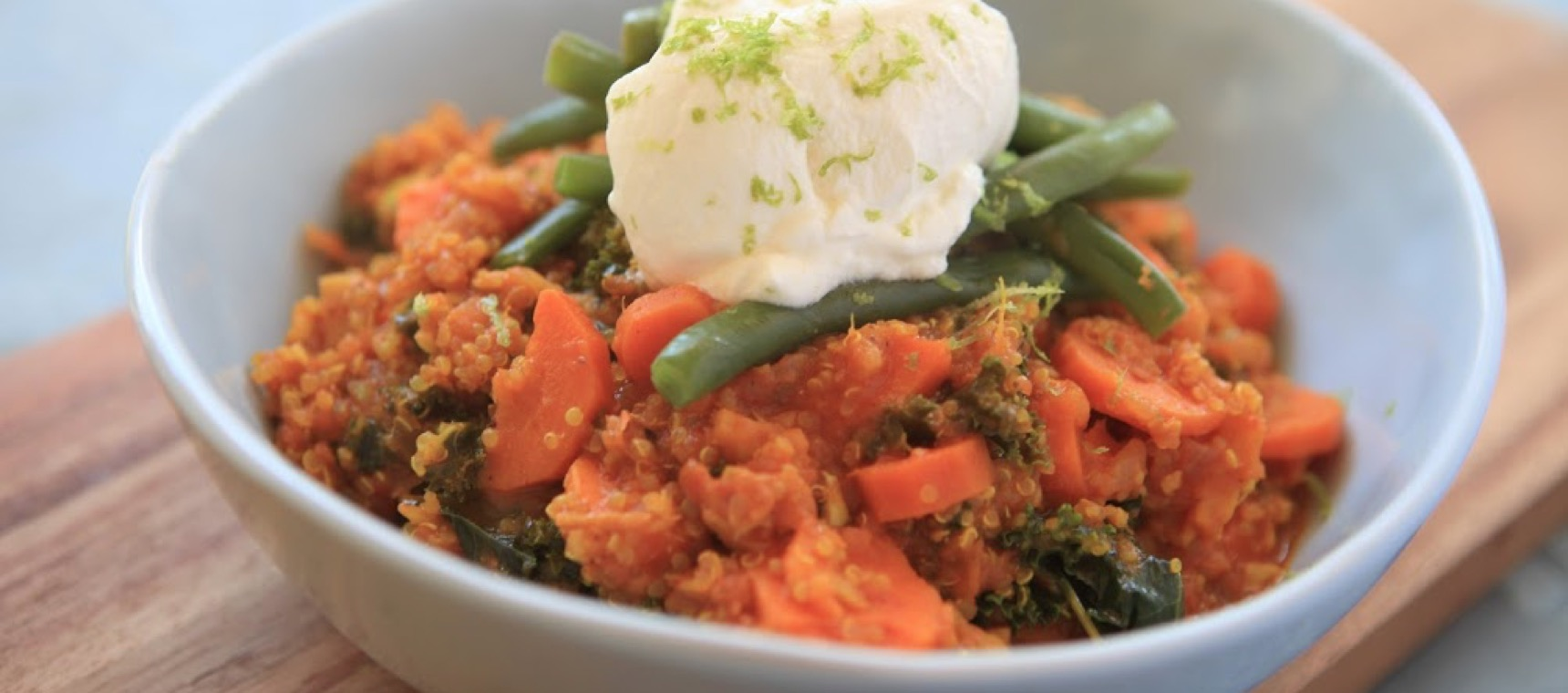 Quinoa and Kale Curry