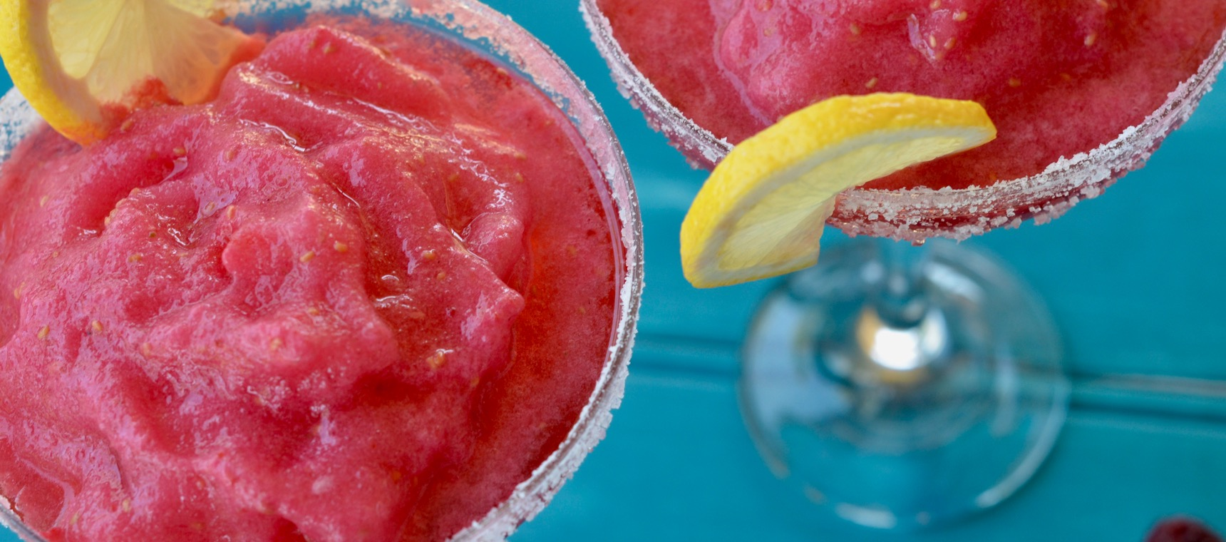 Raspberry Frozen Margaritas