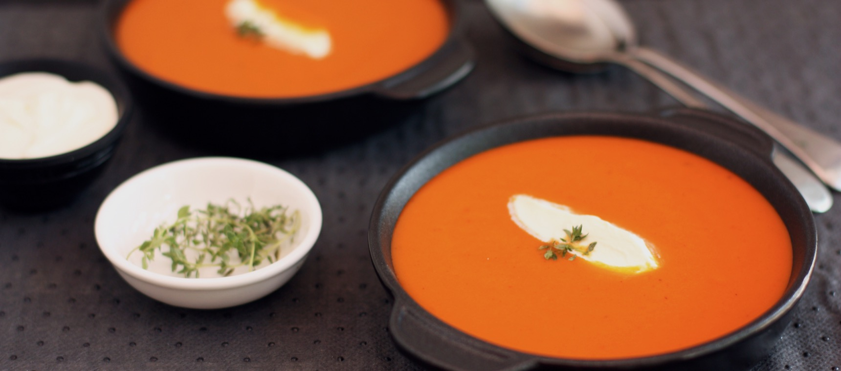 Red Capsicum Soup