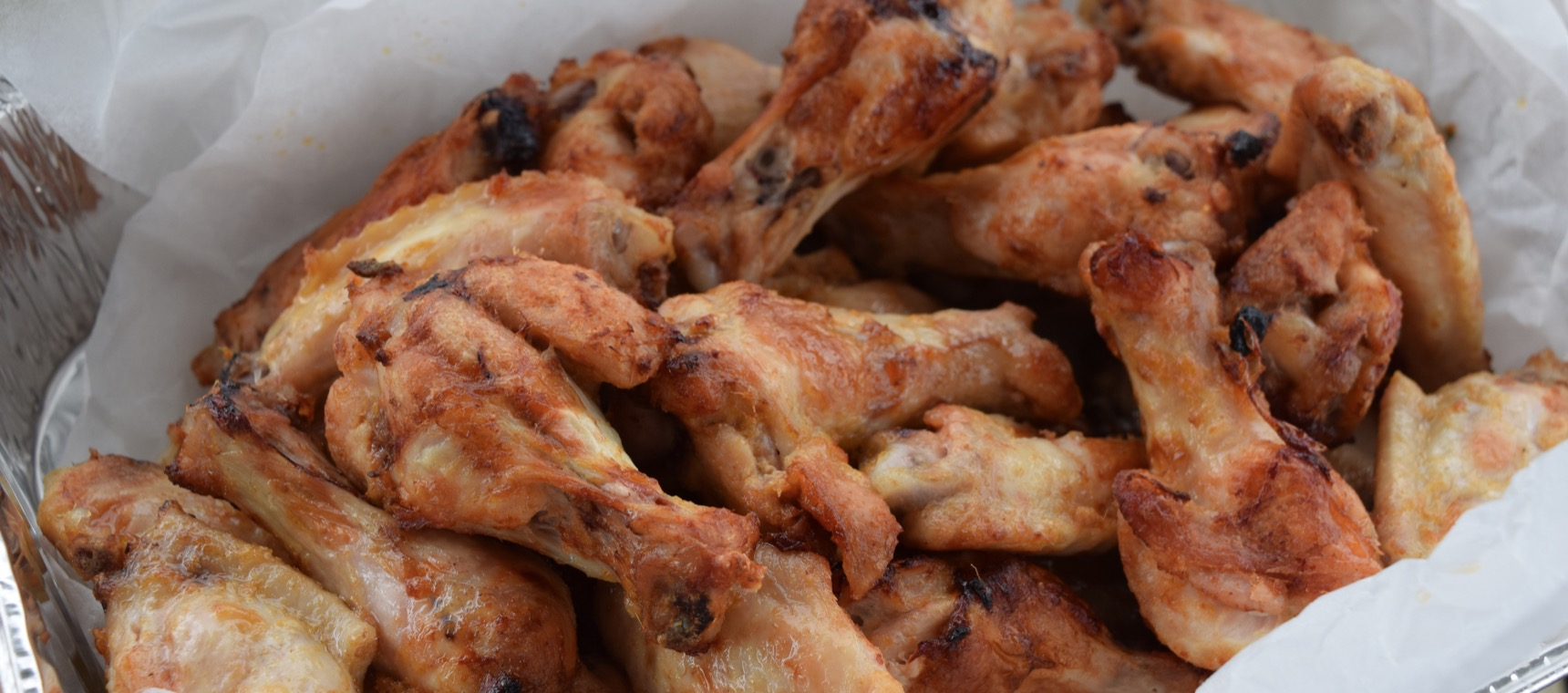 Red Curry Lime Chicken Wings
