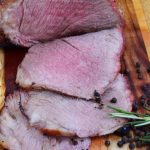 Rosemary Citrus Seasoned Butterflied Lamb Leg