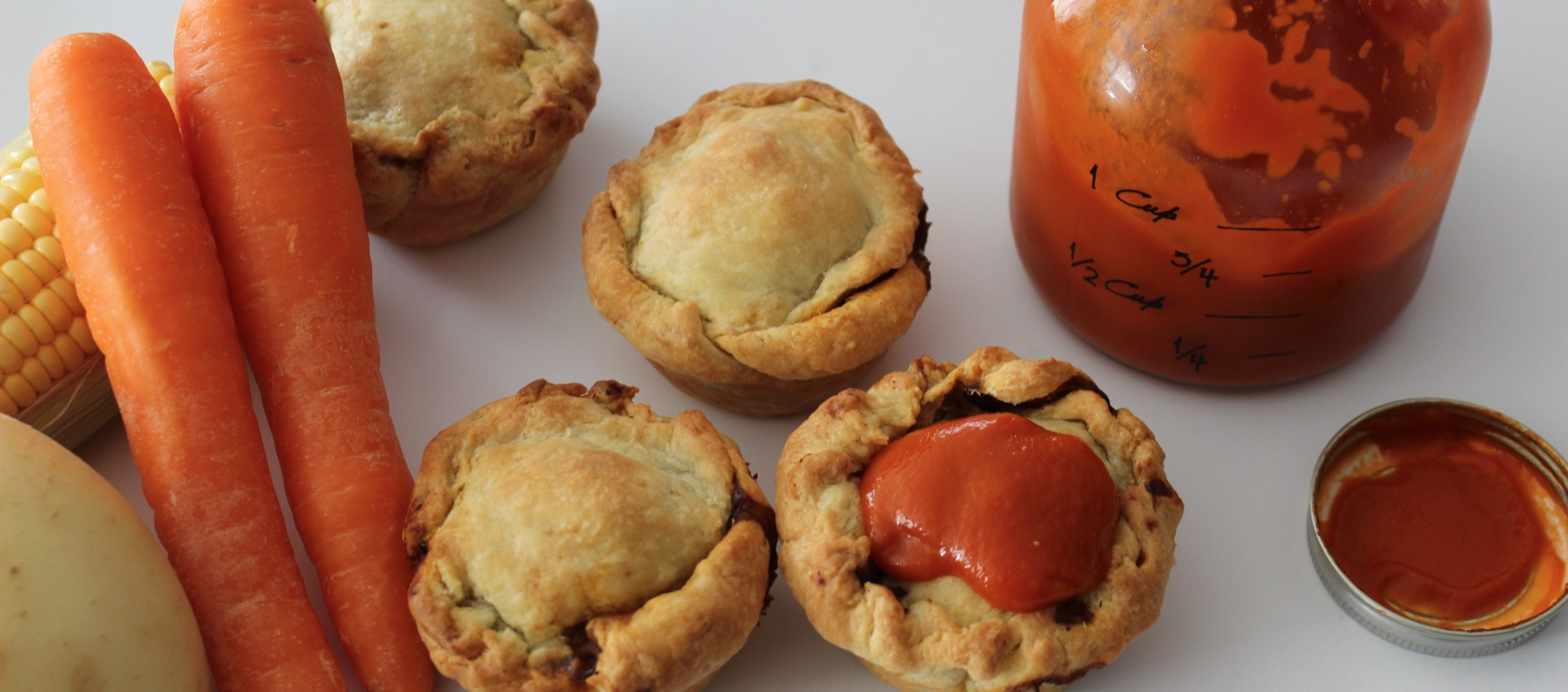 Rustic Slow Cooked Pies