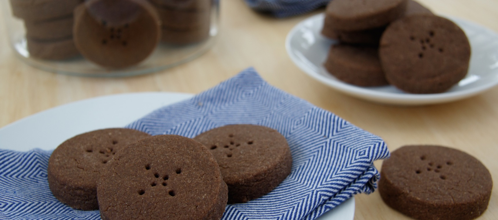 Salted Chocolate Shortbread