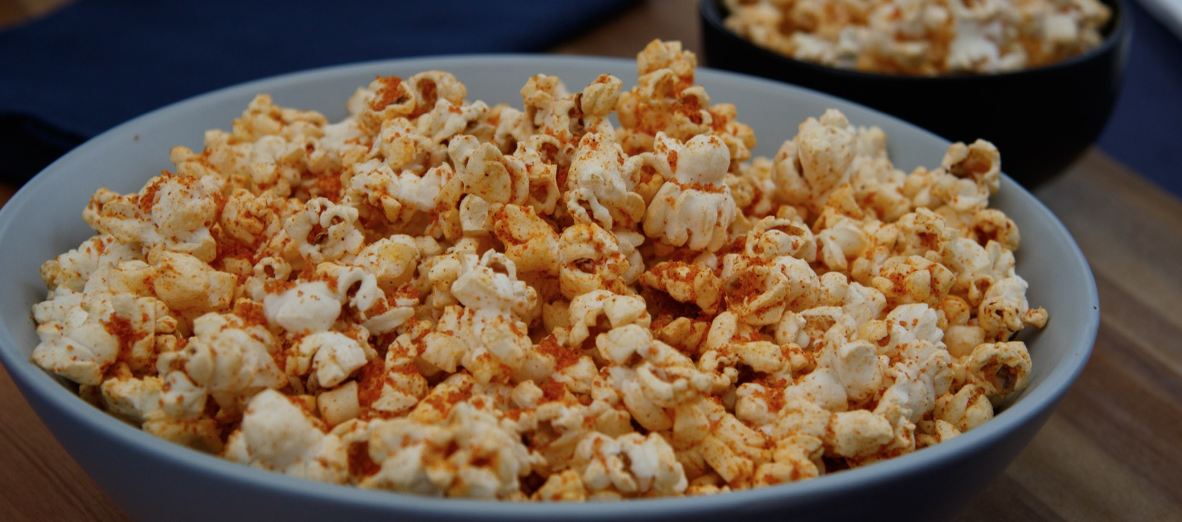 Savoury Seasoned Popcorn