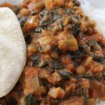 Spinach Lentil Curry with Rice