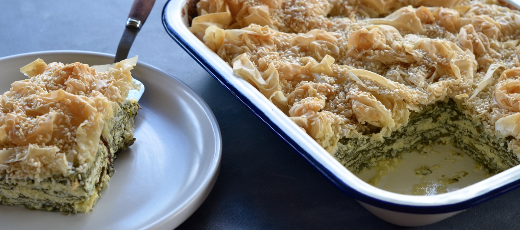 Spinach and Cheese Filo Pie