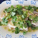 Steamed Snapper With Ginger and Spring Onions