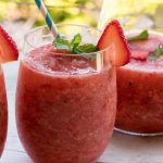 Strawberry and Mint Crush