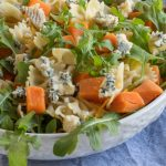 Sweet Potato, Blue Cheese and Rocket Pasta  Salad