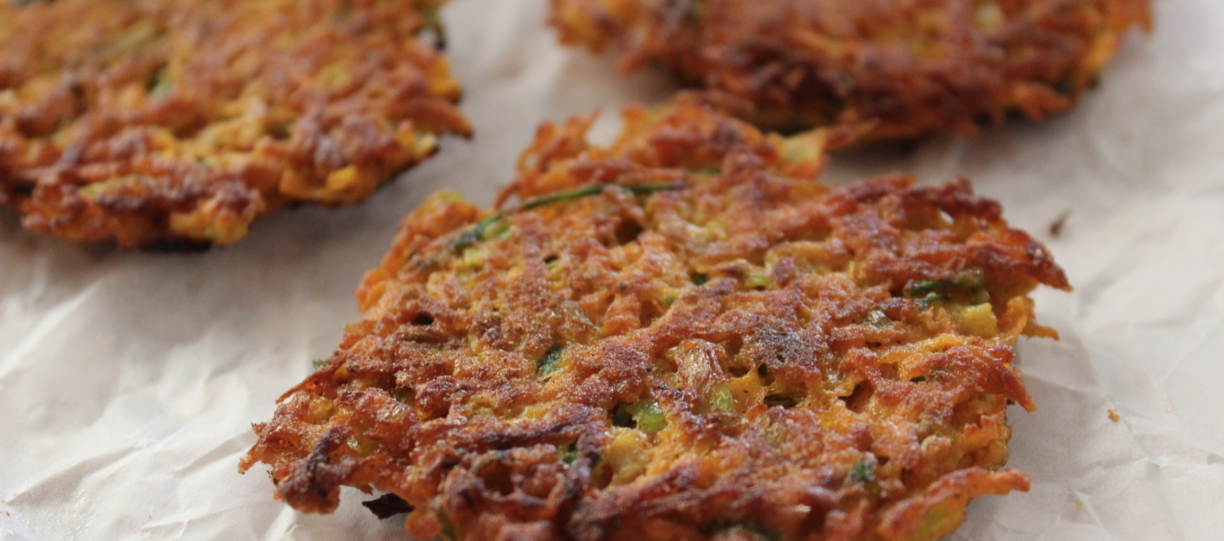 Sweet Potato Fritters