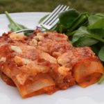Sweet Potato and Feta Cannelloni