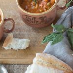 Traditional Minestrone with Pasta