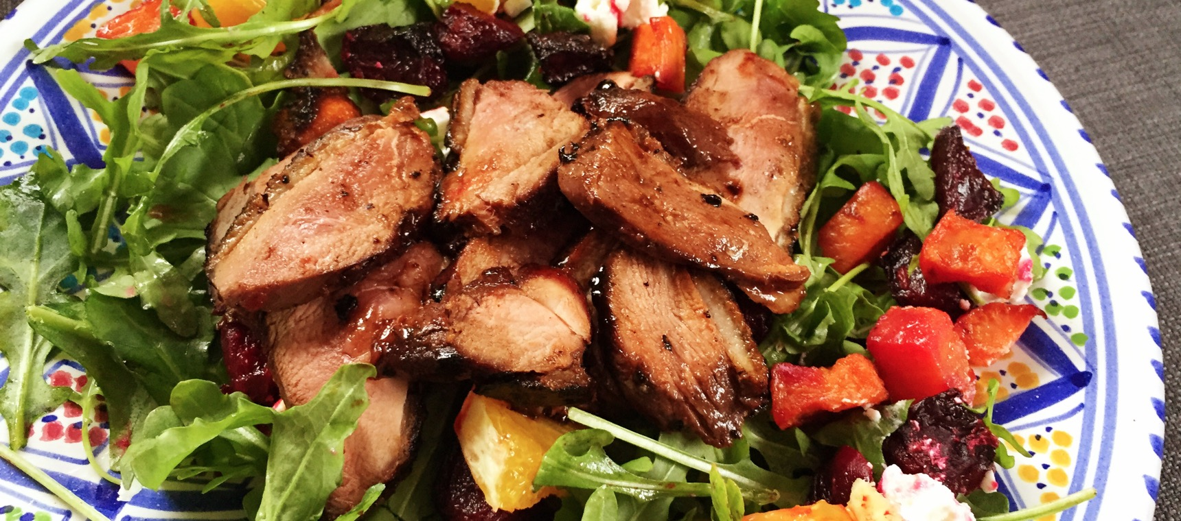 Twice-Cooked Pomegranate Duck
