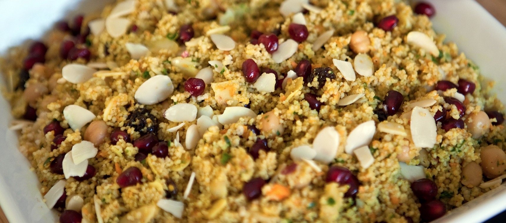 Warm Curried Couscous