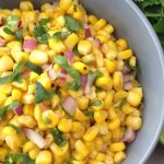 Warm Grilled Corn Salad