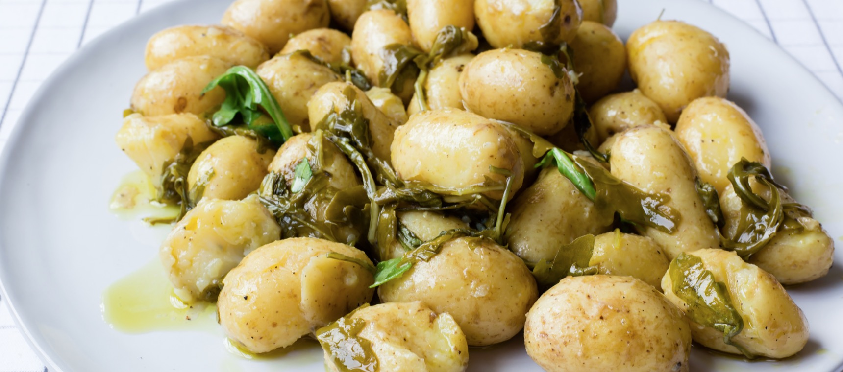 Warm Potato Salad with Rocket