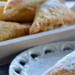Warm Ricotta and Apple Turnovers