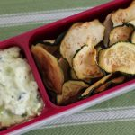 Zucchini Chips with Dip