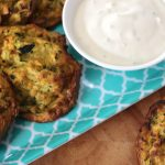 Oven Baked Zucchini Fritters