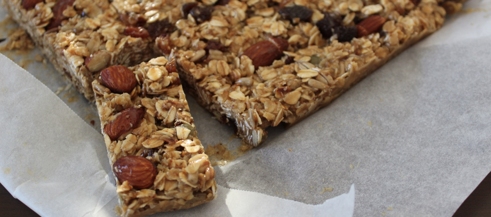 Sticky Honey Nut Muesli Bars