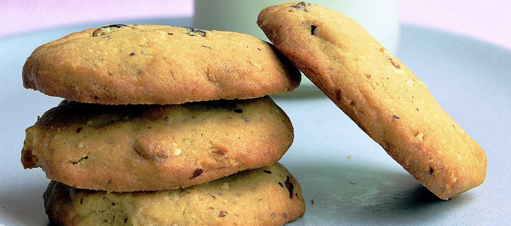 Almond, Chocolate and Sultana Cookies