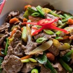 Beef and Black Bean Stir Fry