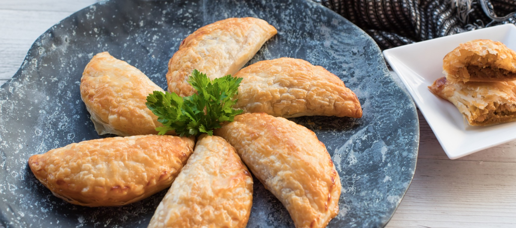 Curried Beef and Vegetable Hand Pies