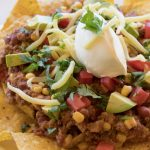 Fully Loaded Beef Nachos