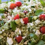Lemon and Herb Pesto Risoni Salad