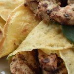 Mild Greek Yoghurt Chicken Wraps