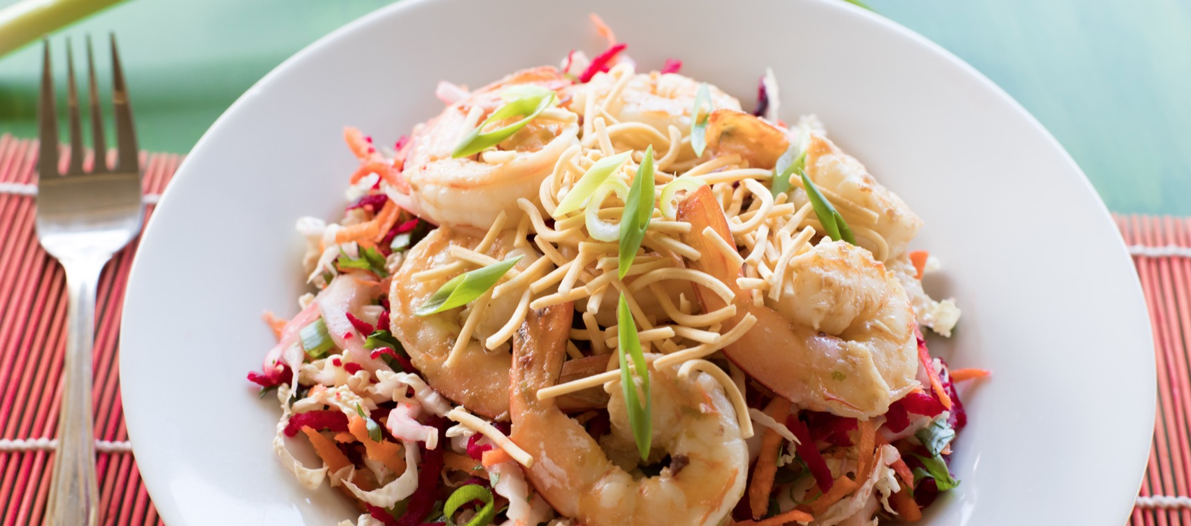 Prawn and Crunchy Noodle Salad