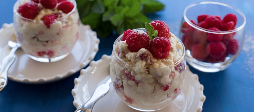 Raspberry White Chocolate Eton Mess