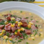 Smoked Ham and Corn Soup