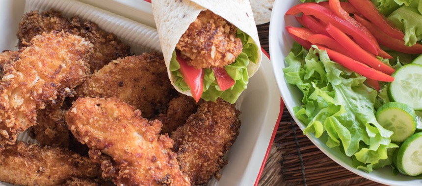 Sweet Chilli Chicken Tender Wraps