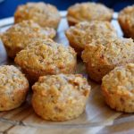 Wholemeal Apple and Carrot Muffins