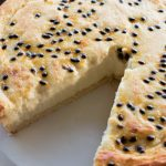 Baked White Chocolate and Passionfruit Tart