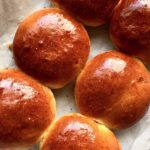 Golden Brioche Buns