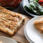 Roast Capsicum and Mozzarella Strudel