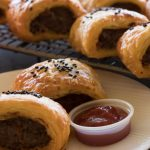 Turkish Inspired Sausage Rolls