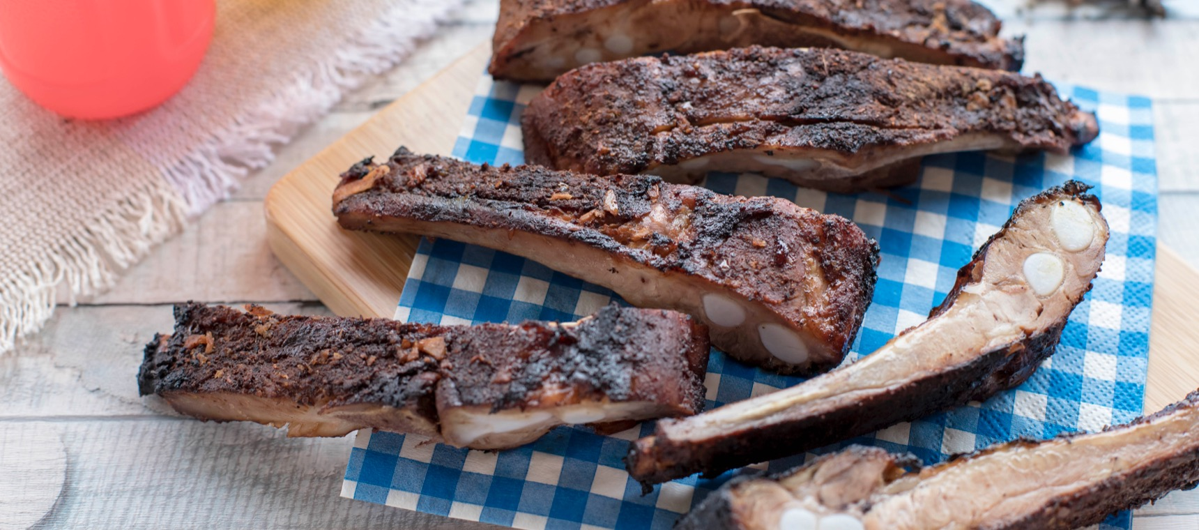 Baked Pork Ribs with Star Anise