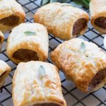 Feta and Sage Sausage Rolls