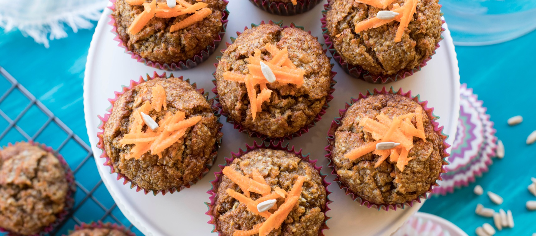 Low Carb Ginger Carrot Cakes