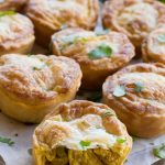 Mini Coriander Chicken Curry Pies