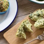 "Low Carb Cheese and Broccoli ""Muffins"""