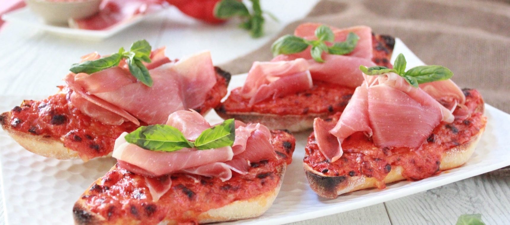 Grilled Italian Open Sandwiches