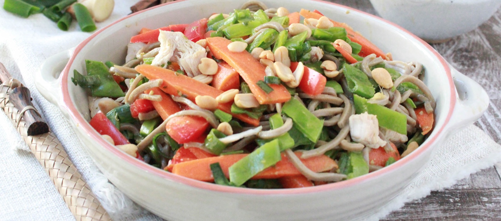 Asian Chicken Noodle Salad